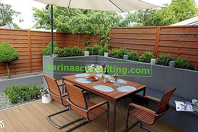 Come recintare la terrazza? 5 idee per la recinzione del terrazzo