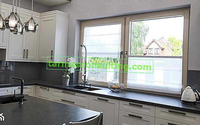 Römische Vorhänge - eine gute Idee für die Fensterdekoration!