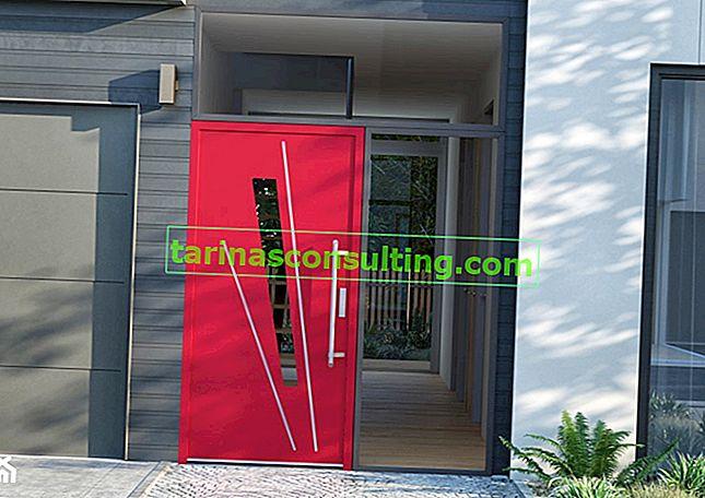 Die Haustür muss nicht langweilig sein! Treffen Sie die Türen, die von der französischen Straße inspiriert sind