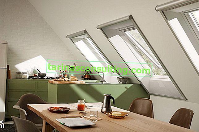 Moskitonetze für Dachfenster - wie wählt man das richtige aus? Leiten