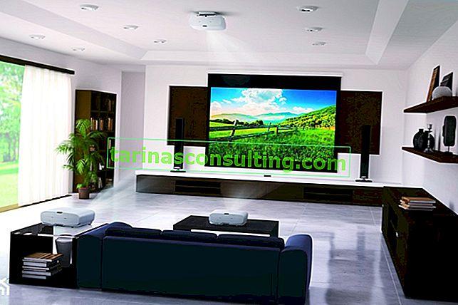 Erstellen Sie ein Kino in Ihrem eigenen Zuhause. Warum einen Projektor wählen?