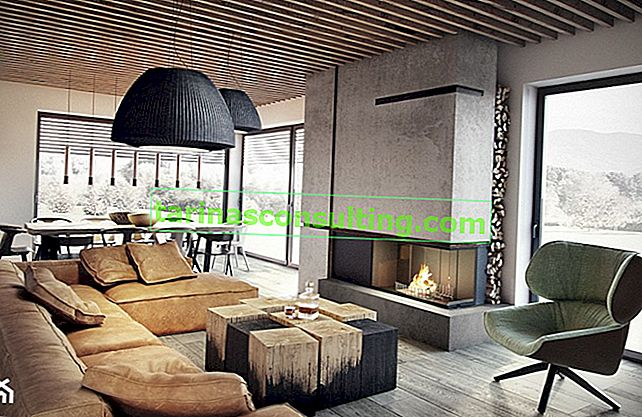 Design: Zierputz. Welches Interieur passt es und wie sollte es platziert werden?