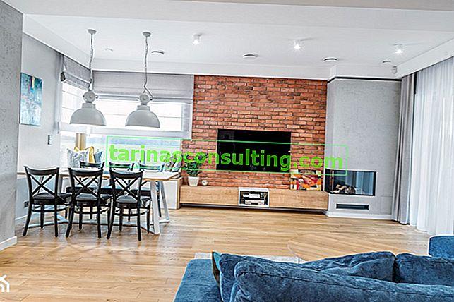 Dekorativer Ziegel auf 6 Arten - wählen Sie die perfekte Lösung für Ihre Wohnung