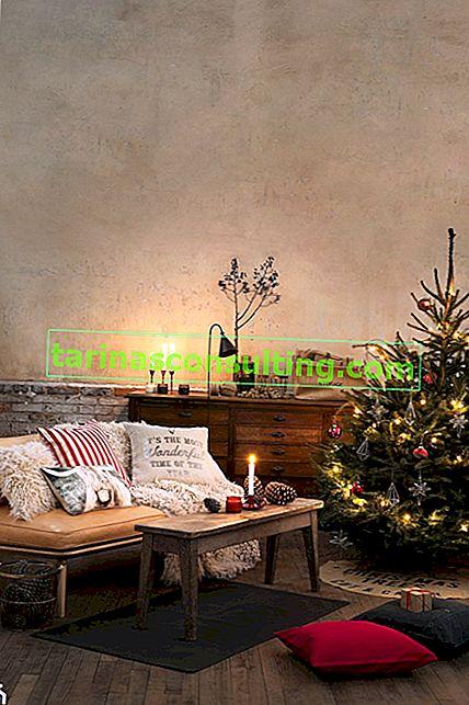 Come decorare un soggiorno per Natale?