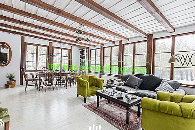 7 idee per un soggiorno in stile rustico: una panoramica dell'ispirazione