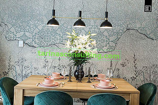 Decorazioni per la tavola di tutti i giorni - 5 idee per la disposizione dei tavoli in soggiorno