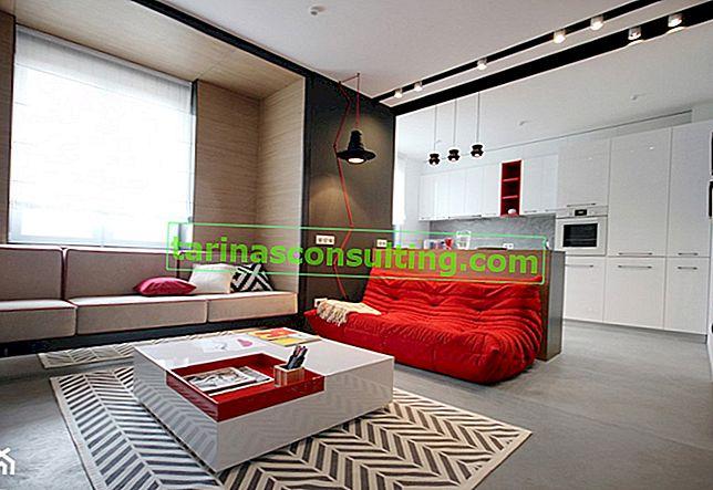 10 idee per una sistemazione originale del soggiorno: un divano nel ruolo principale