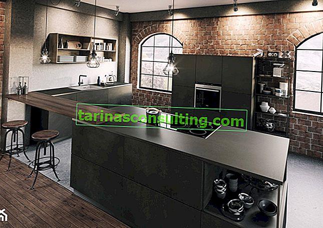 Industrieküche - wie arrangiere ich das? 5 Tipps