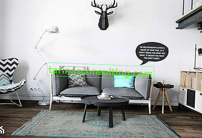 Welchen Teppich sollten Sie für ein Interieur im skandinavischen Stil wählen?