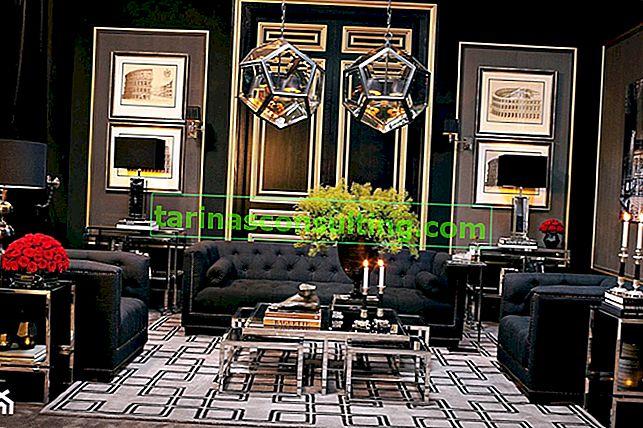 Luxuriöser Glamourstil im Interieur - welche Farben, welche Möbel, welche Accessoires?