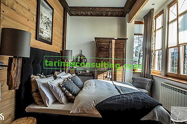 7 idee per una camera da letto rustica: una panoramica dell'ispirazione