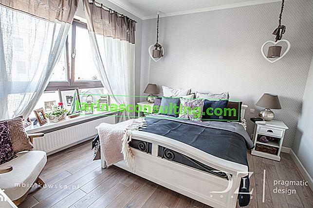 Una camera da letto accogliente nei toni del grigio - 7 idee per la disposizione