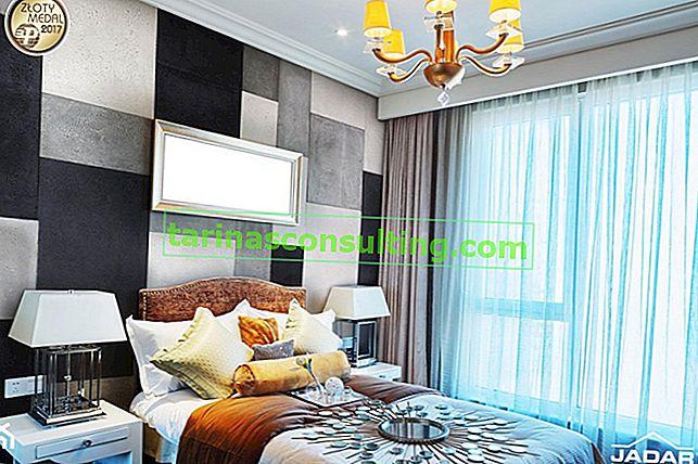Cemento architettonico nella camera da letto: tendenze e ispirazioni
