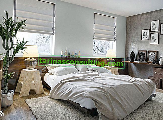 Di che colore è la camera da letto? Bianco calmo, grigio tenue o un tripudio di colori?