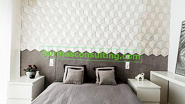 Wezgłowie - 14 idee per il muro dietro il letto