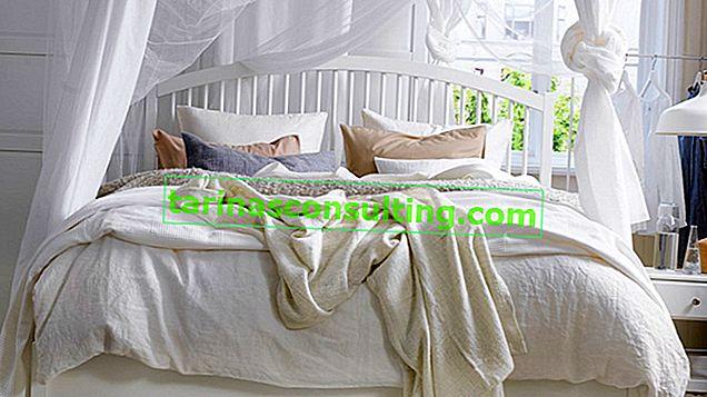Camera da letto bianca: come scegliere colori e mobili?