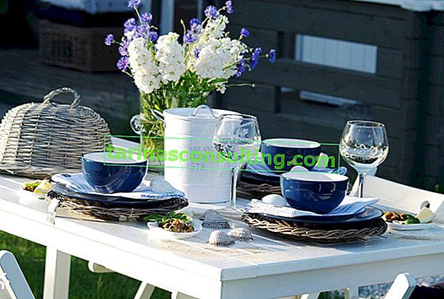 Gartenparty. Praktische Tipps und Ideen für Tischarrangements!