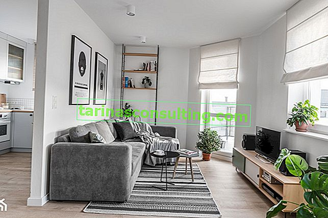 Disposizione delle finestre nel soggiorno - 5 idee per un design di finestre alla moda nel soggiorno