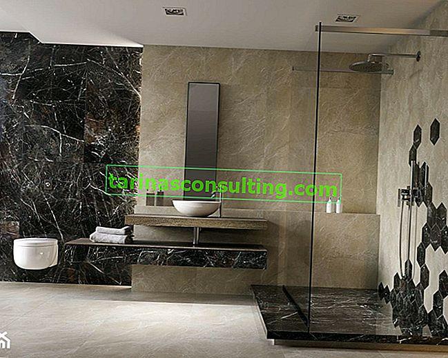 5 Badezimmertrends für 2019 - sehen Sie, wie Sie das modischste Badezimmer dekorieren können!