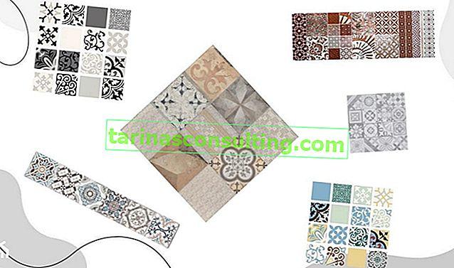 Piastrelle patchwork: un'idea per pareti e pavimenti alla moda