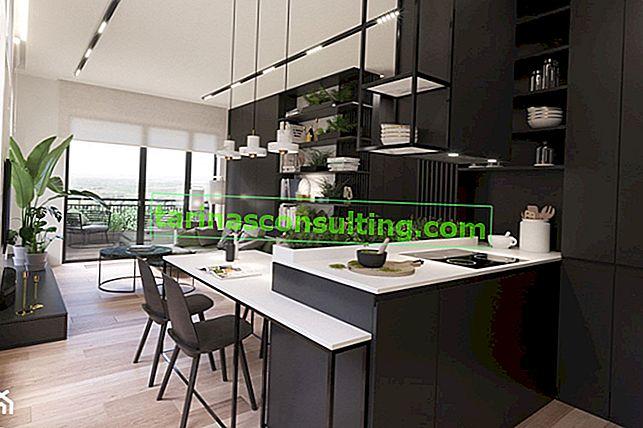 Trend 2019: schwarze Küche. 9 dunkle Küchenideen