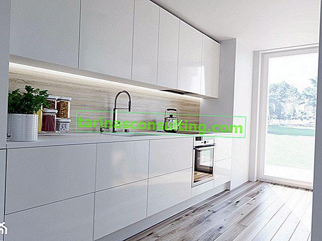 Tendenza alla moda: pavimenti chiari nel design degli interni