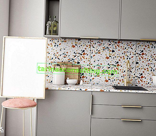 Piastrelle di terrazzo in cucina e in bagno: come sfruttare la tendenza del ritorno?