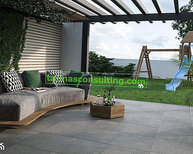 Terrassenfliesen - einige Ideen für die Anordnung der Terrasse. Hallo Frühling im Garten!