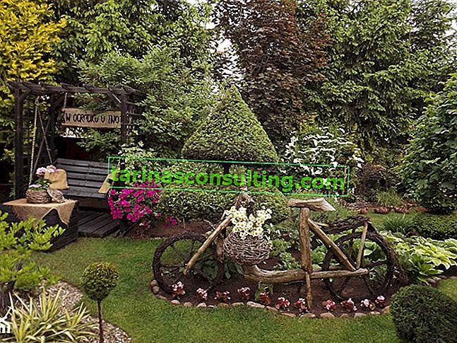 Ornamente für den Garten - originelle Ideen für die Dekoration des Gartens